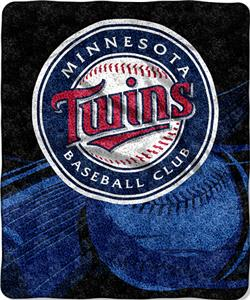 Northwest MLB Minnesota Twins Sherpa Throw