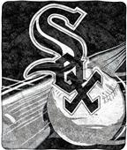 Northwest MLB White Sox Big Stick Sherpa Throw