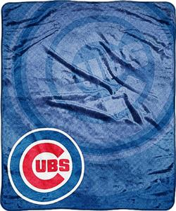 Northwest MLB Chicago Cubs Retro Super Plush Throw