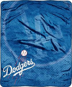 Northwest MLB LA Dodgers Retro Super Plush Throw