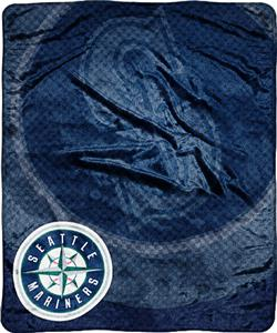Northwest MLB Seattle Mariners Retro Plush Throw