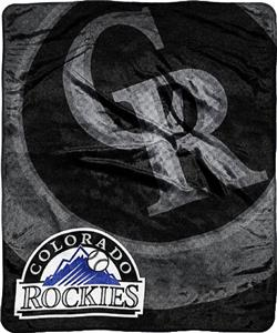 Northwest MLB Colorado Rockies Plush Throw