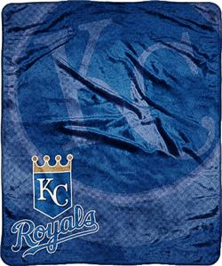 Northwest MLB Kansas City Royals Super Plush Throw