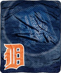 Northwest MLB Detroit Tigers Super Plush Throw