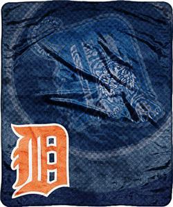 Northwest MLB Detroit Tigers Super Plush Throw