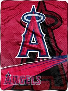 Northwest MLB LA Angels Tie Dye Super Plush Throw
