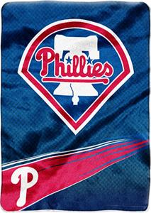 Northwest MLB Phillies Tie Dye Super Plush Throw