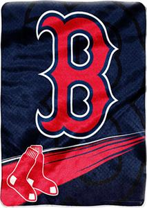Northwest MLB Boston Red Sox Tie Dye Plush Throw