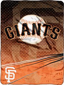 Northwest MLB SF Giants Tie Dye Plush Throw