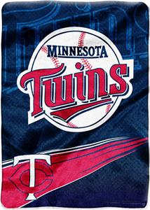 Northwest MLB Minnesota Twins Tie Dye Plush Throw