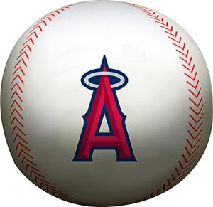 Northwest MLB LA Angels Beaded Baseball Pillow