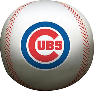 Northwest MLB Chicago Cubs Beaded Baseball Pillow