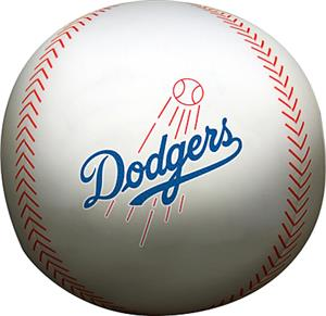 Northwest MLB LA Dodgers Beaded Baseball Pillow