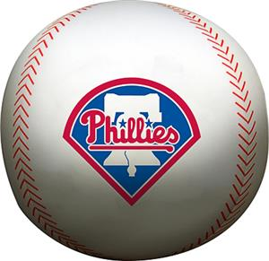 Northwest MLB Phillies Beaded Baseball Pillow