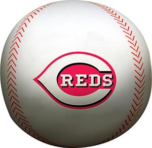 Northwest MLB Reds Beaded Baseball Pillow