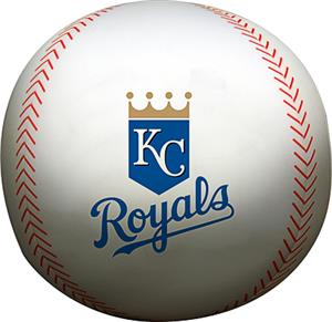 Northwest MLB Royals Beaded Baseball Pillow
