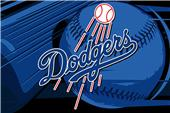 Northwest MLB LA Dodgers Acrylic Tufted Rug