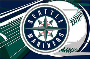 Northwest MLB Seattle Mariners Acrylic Tufted Rug