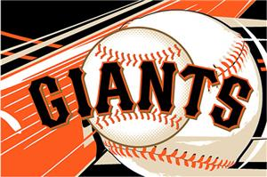 Northwest MLB San Francisco Giants Acrylic Rug