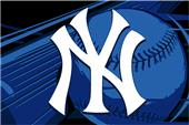 Northwest MLB New York Yankees Acrylic Tufted Rug