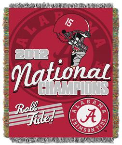 Northwest NCAA Alabama BCS Championship Throw