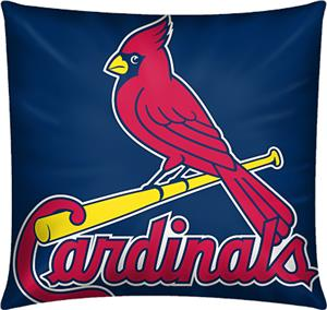 Northwest MLB Cardinals Embroidered Pillow