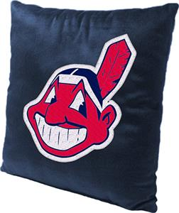 Northwest MLB Indians Embroidered Pillow