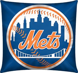 Northwest MLB New York Mets Embroidered Pillow