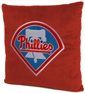 Northwest MLB Phillies Embroidered Pillow