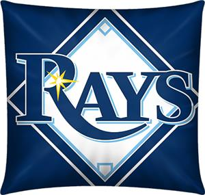 Northwest MLB Tampa Bay Rays Embroidered Pillow