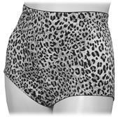 Moderate Control Leopard Print Briefs-Closeout