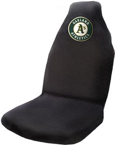 Northwest MLB Athletics Car Seat Cover (each)