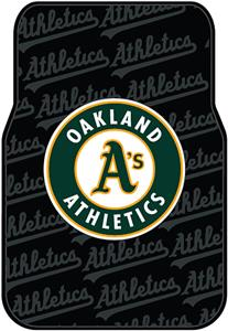 Northwest MLB Oakland Athletics Car Floor Mat