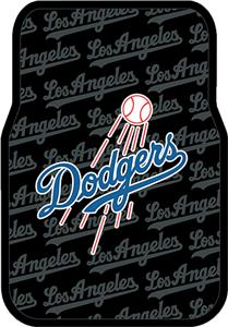 Northwest MLB Los Angeles Dodgers Car Floor Mat