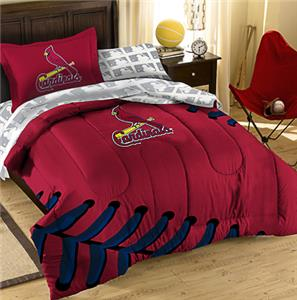 Northwest MLB Cardinals Twin Bed Comforter Sets