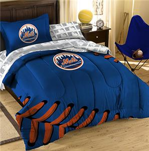 Northwest MLB New York Mets Twin Bed Comforter Set