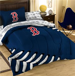 Northwest MLB Boston Red Sox Twin Bed In Bag Sets