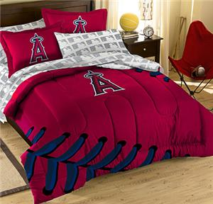 Northwest MLB LA Angels Full Bed Comforter Sets