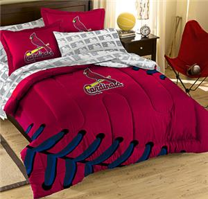 Northwest MLB Cardinals Full Bed Comforter Sets