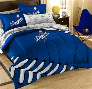 Northwest MLB LA Dodgers Full Bed In Bag Sets