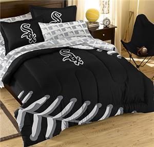 Northwest MLB White Sox Full Bed In Bag Sets