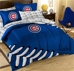 Northwest MLB Cubs T/F Embroidered Comforter