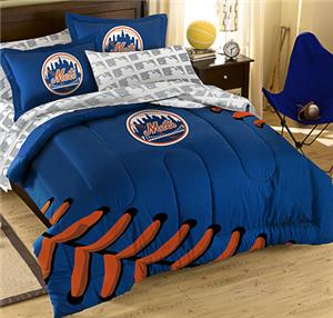 Northwest MLB Mets T/F Embroidered Comforter