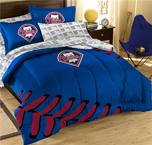 Northwest MLB Phillies T/F Embroidered Comforter