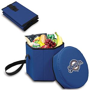 Picnic Time MLB Milwaukee Brewers Bongo Cooler