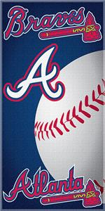 "Northwest MLB Atlanta Braves 30""x60"" Beach Towels"