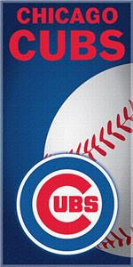 "Northwest MLB Chicago Cubs 30""x60"" Beach Towels"