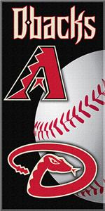"Northwest MLB Diamondbacks 30""x60"" Beach Towels"