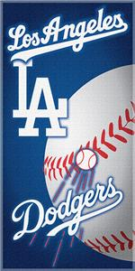 "Northwest MLB LA Dodgers 30""x60"" Beach Towels"