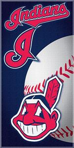 "Northwest MLB Indians 30""x60"" Beach Towels"